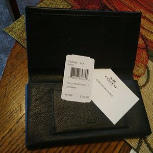 Coach cell wallet